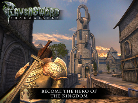 Gigantic fantasy-RPG Ravensword: Shadowlands will hit the App Store at midnight