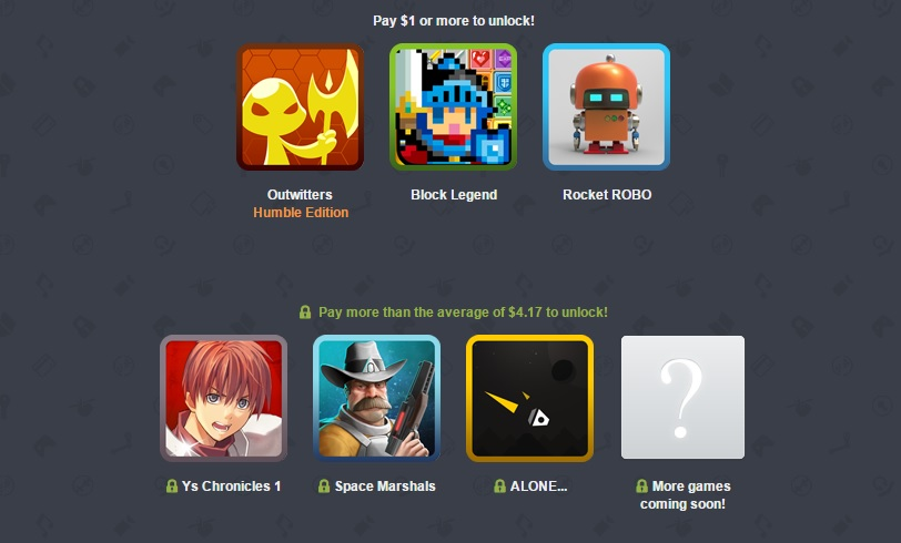 Humble Mobile Bundle 16 isn't bad - includes Ys Chronicles 1, Space Marshals, more