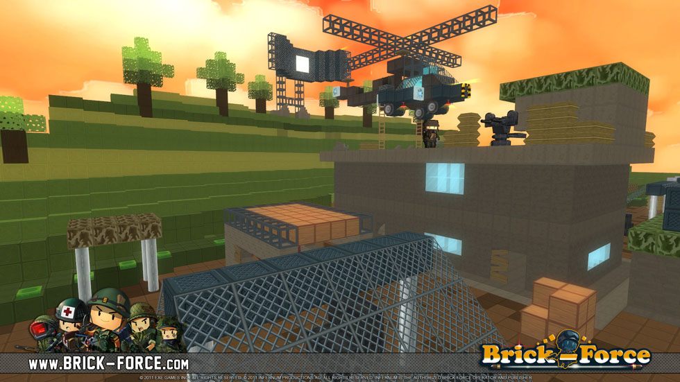Hands-on with Minecraft-cum-Call of Duty title Brick Force on iOS and Android