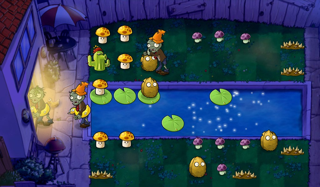 Plants vs Zombies (PlayBook)