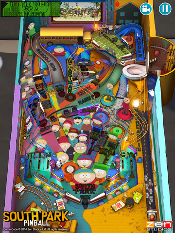 South Park: Pinball does almost exactly what you'd expect it to, and it's out now on iOS and Android