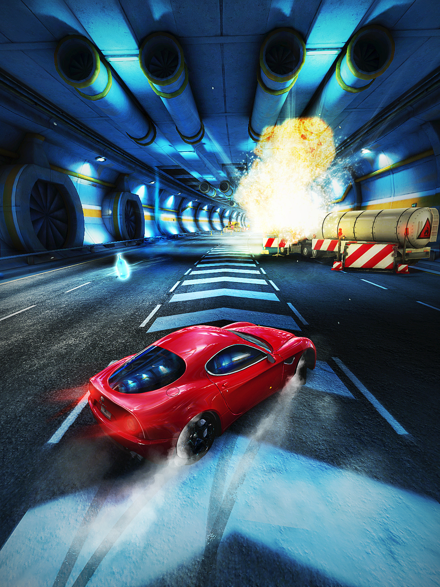 Out now: Asphalt Overdrive is a free to play retro endless-runner/racer hybrid