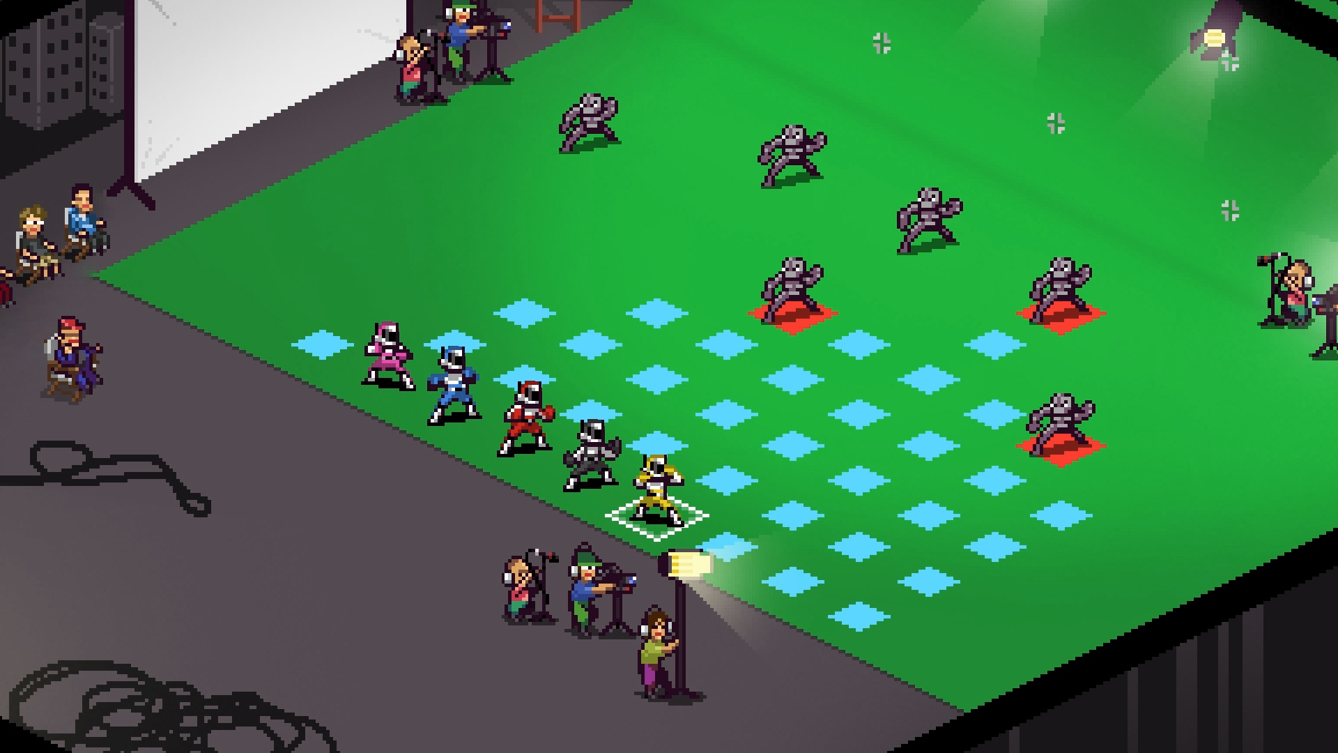 Power Rangers-inspired tactical RPG Chroma Squad is coming to iOS, Android, and Vita in early 2017