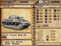 Panzer Tactics DS trailer and new screens march forth