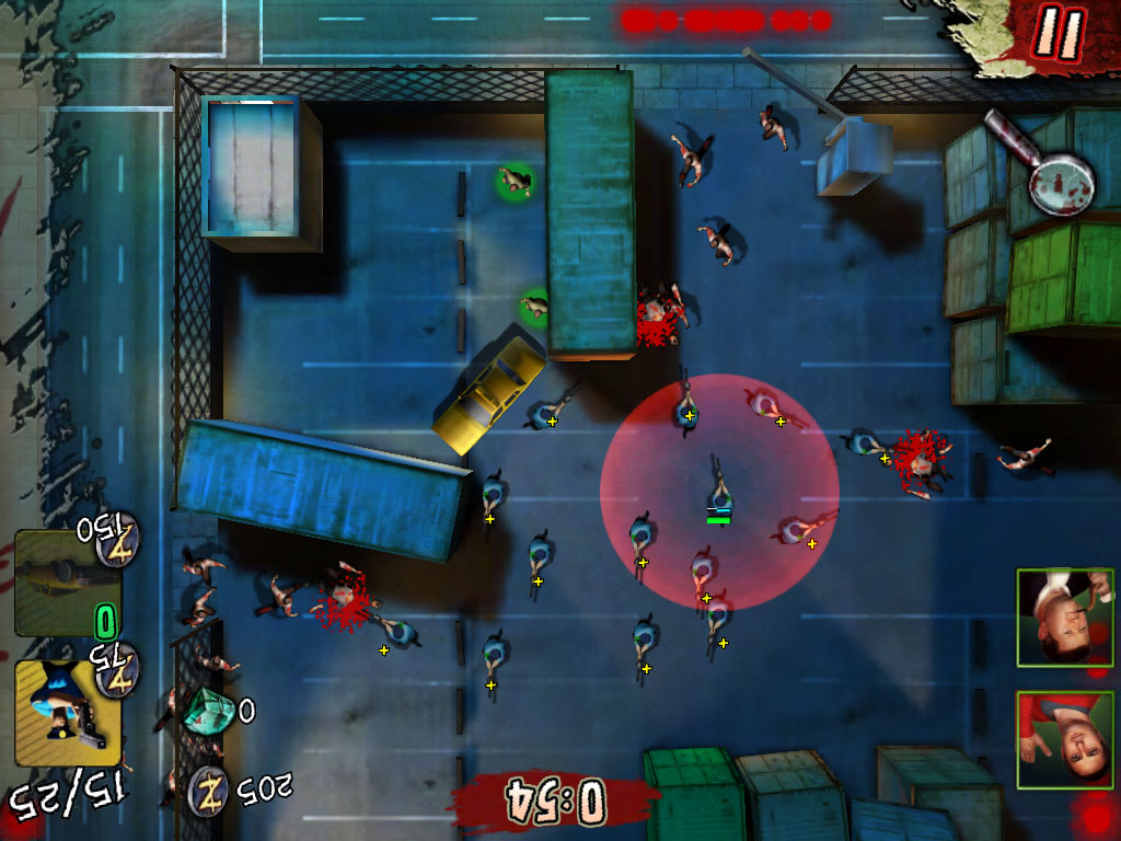 Glu Mobile offers topdown zombie defence strategy in freemium iOS game Infected