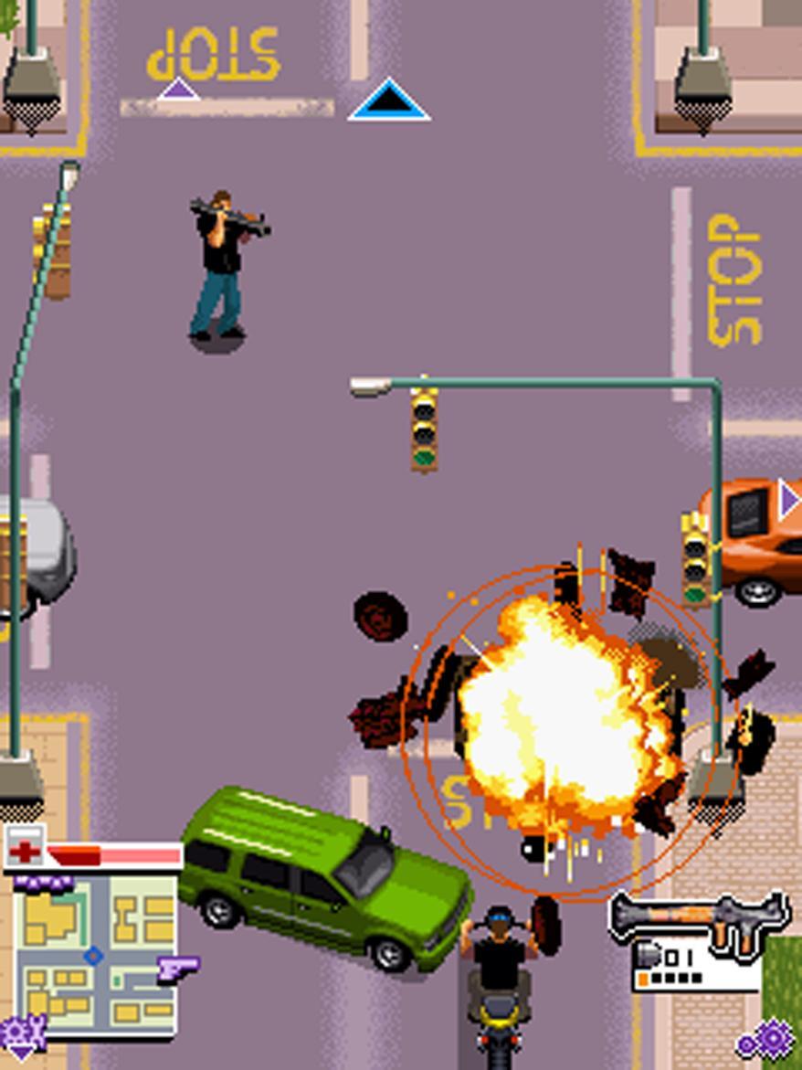 American gangster mobile, screenshot 1