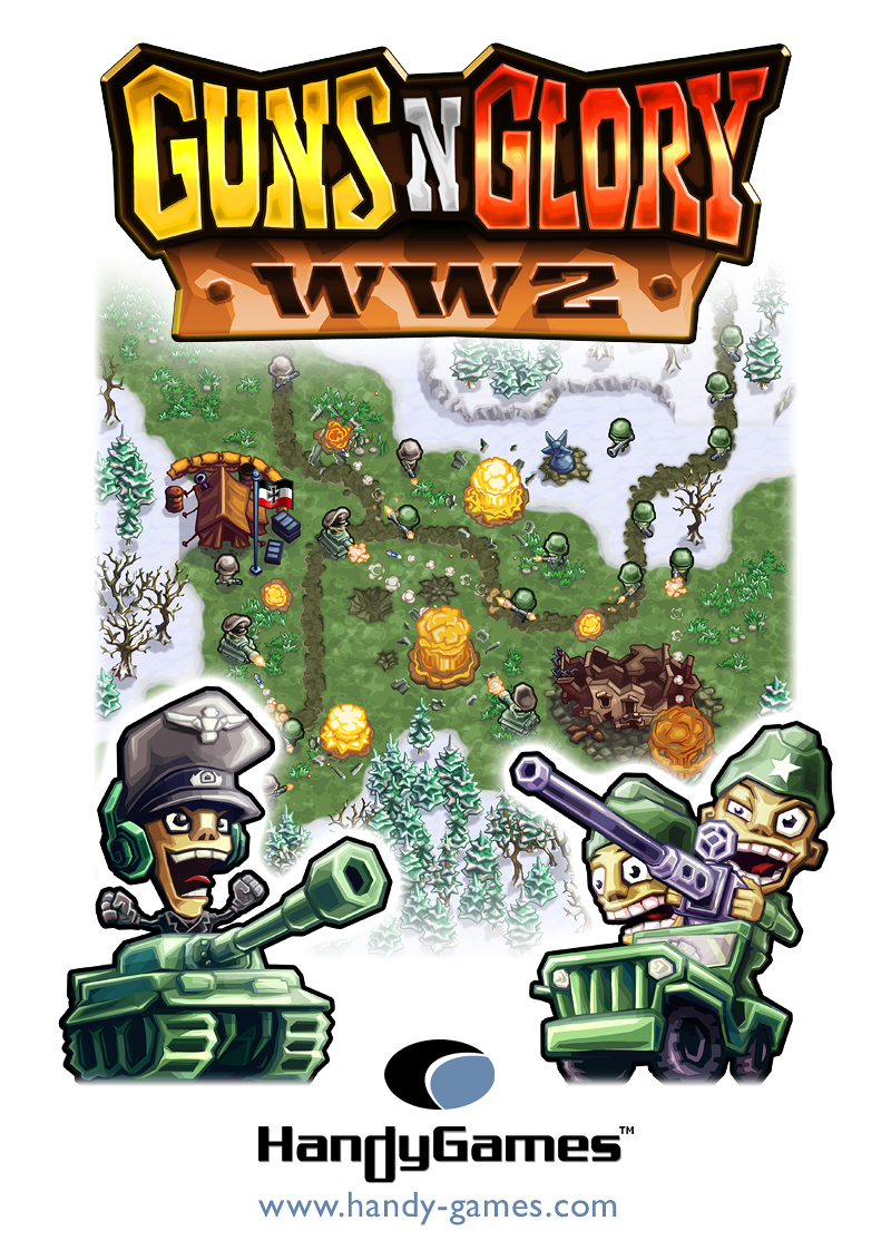 Tower defence sequel Guns 'n' Glory WW2 heading to Xperia Play, iPhone, and Android in the summer