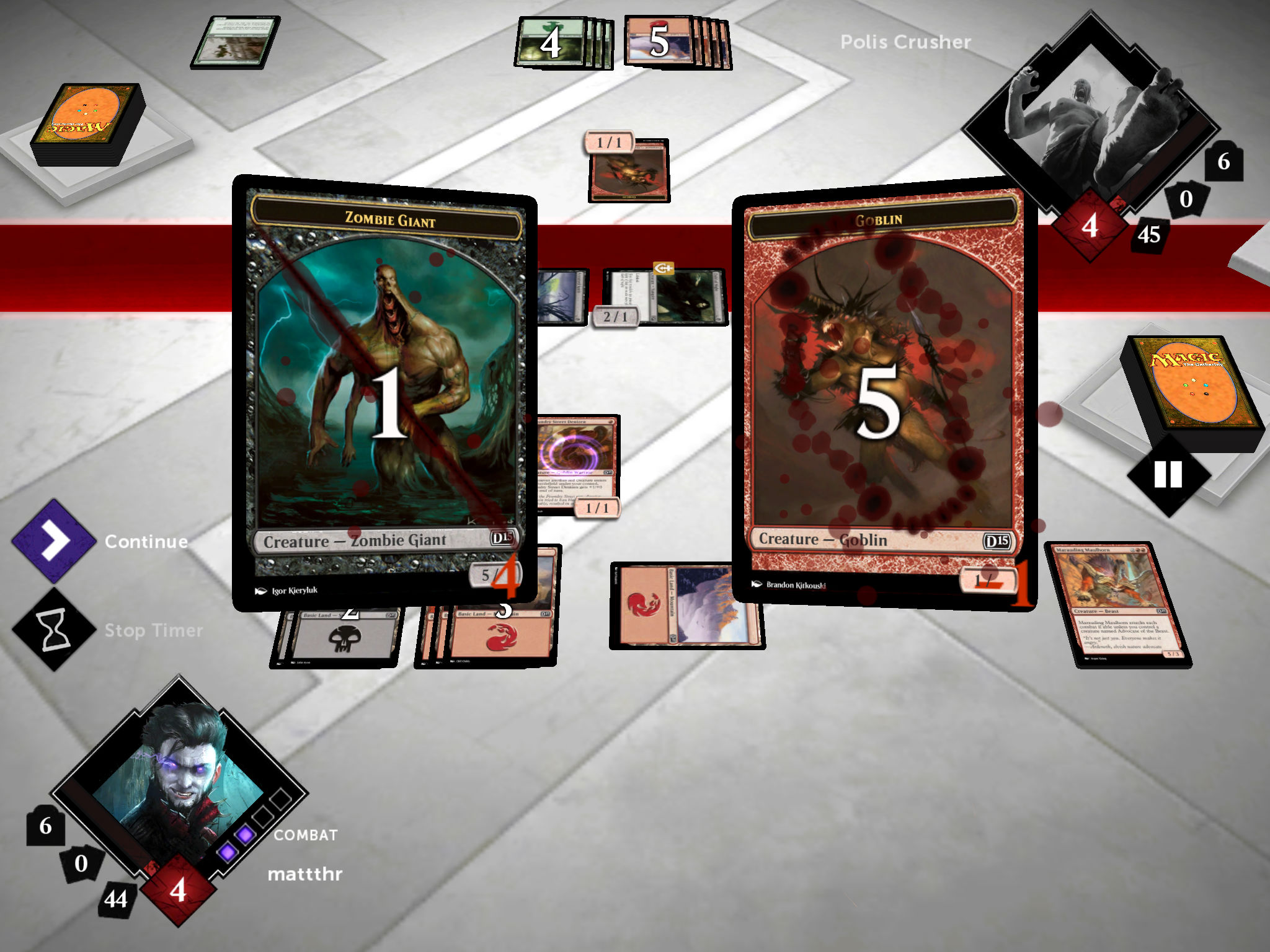Magic 2015, the Silver Award winning digital version of the classic CCG, is now out for Android