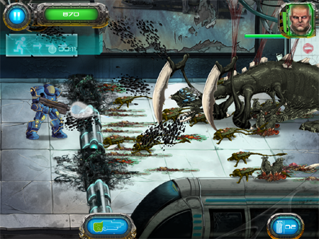 Send extraterrestrials home in a body bag in upcoming blaster Soldier vs Aliens