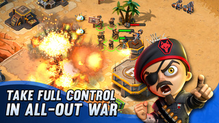 Tiny Troopers: Alliance is a free to play base-building lite-strategy game that's out right now for iPad and iPhone