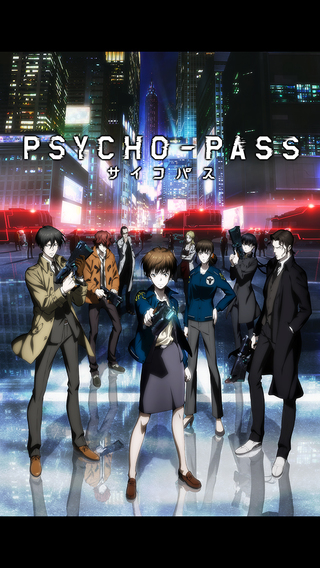 Cave's Psycho-Pass iOS and Android game is a visual novel / shooter hybrid