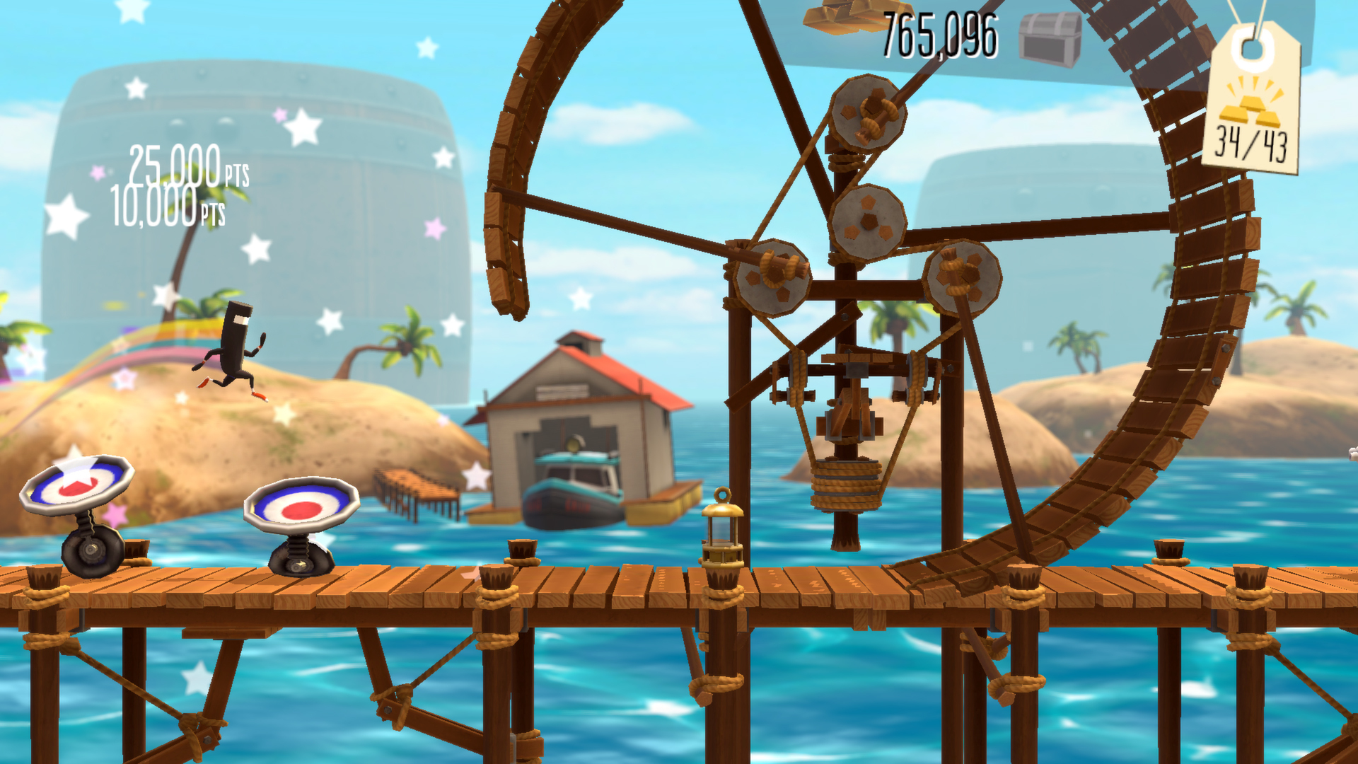 Commander Video will be sprinting, jumping, and jiving onto iOS and Vita soon in Runner 2