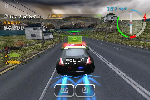 Need for Speed: Hot Pursuit pits for iPhone and iPad update