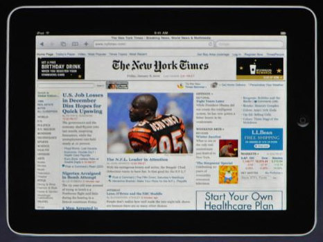 Second-generation iPad rumours resurface: OLED screen, different sizes
