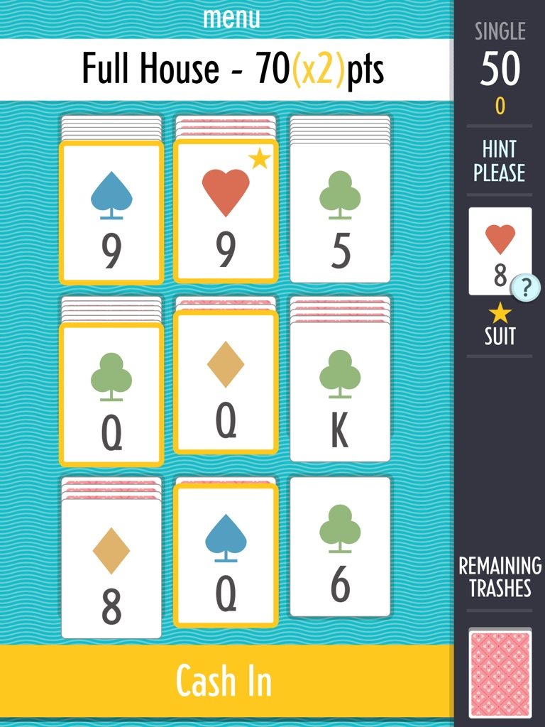 Brilliant, quickfire card game Sage Solitaire gets updated with the ultimate gamble