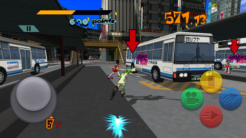 [Update] Dreamcast classic Jet Set Radio skates onto iOS and Android