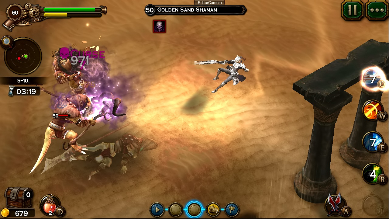 Check out the official gameplay trailer for upcoming action RPG Angel Stone