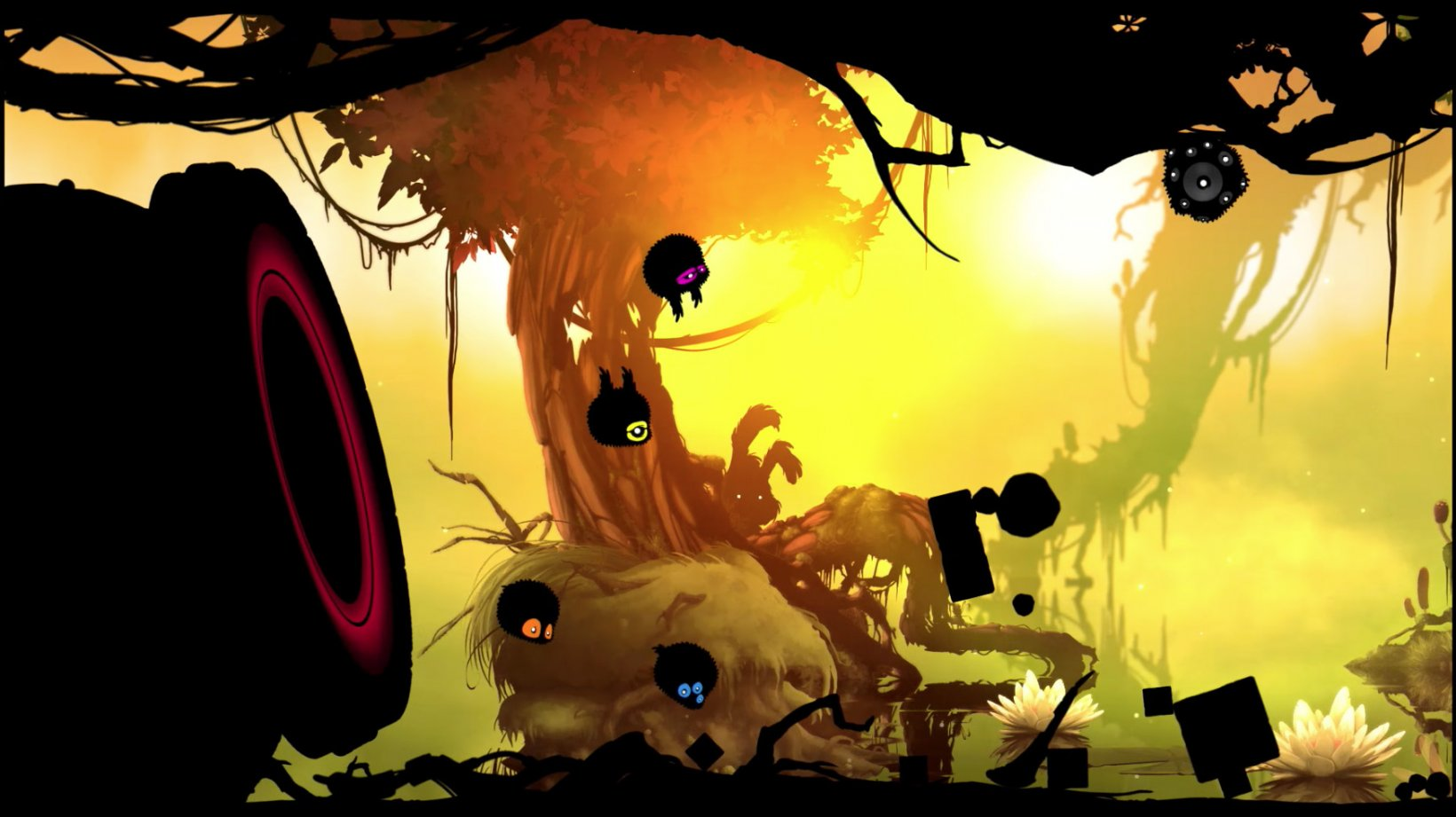 Badland for Android has caught up with the iOS version and been updated with cooperative multiplayer