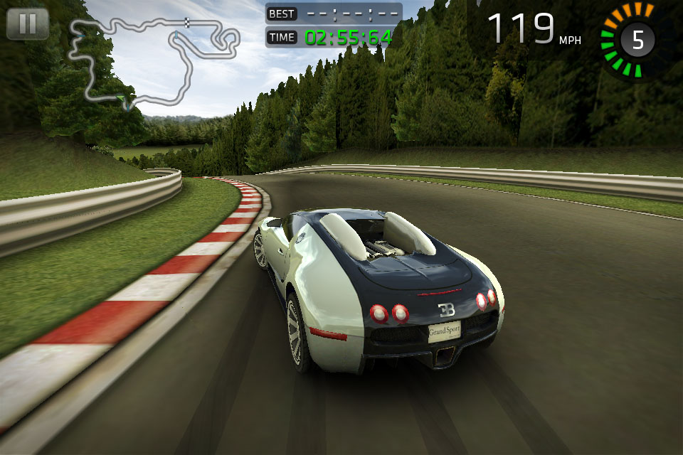 Free iOS racer Sports Car Challenge updated with Audi R8 GT Spyder