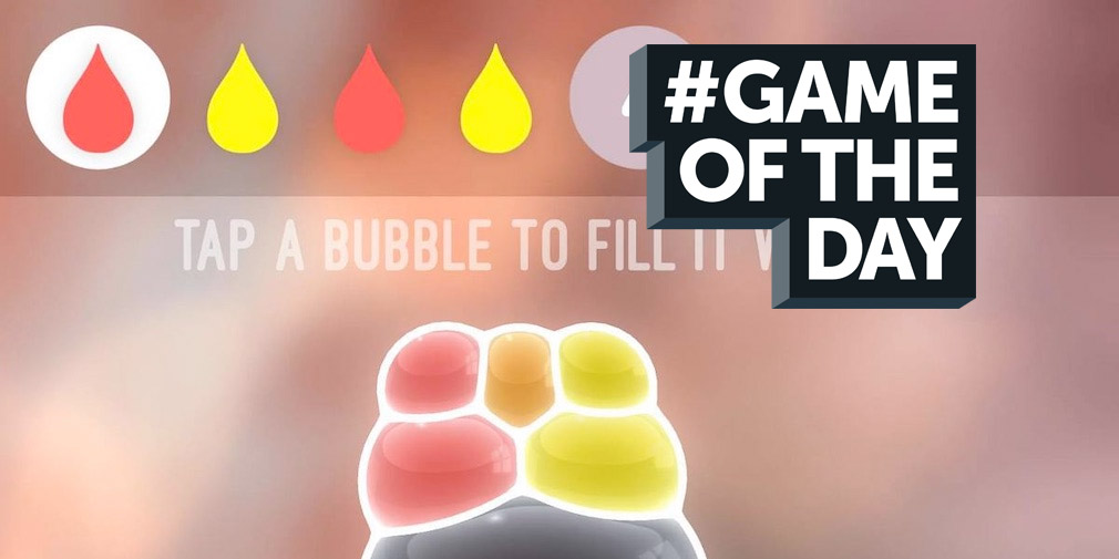 GAME OF THE DAY - Tiny Bubbles is a match-stuff puzzler you need to play