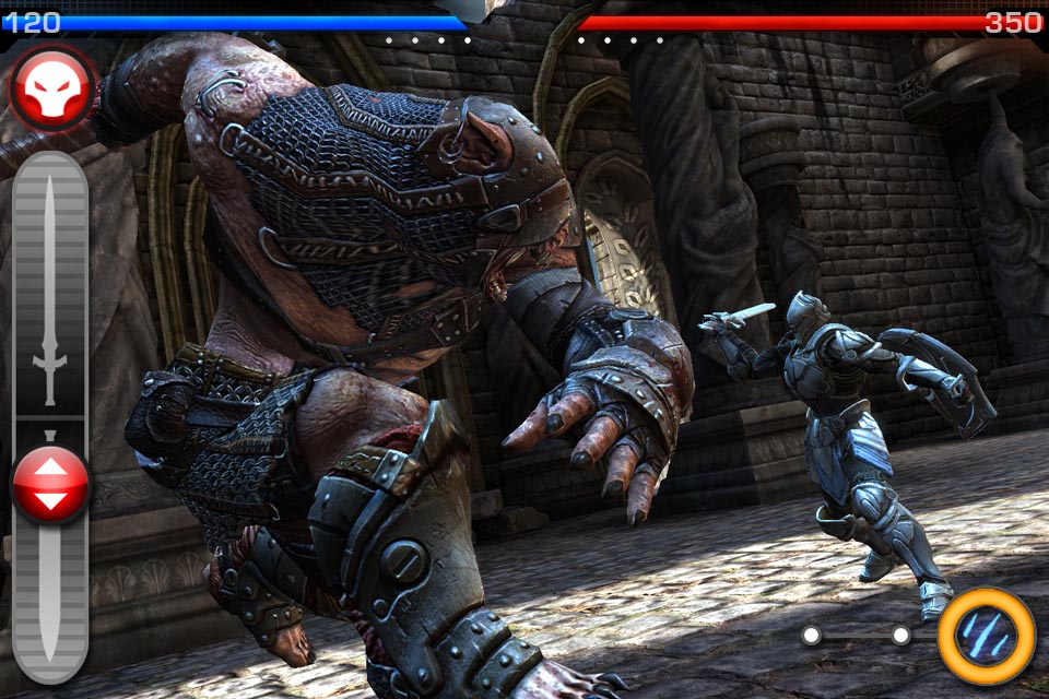 Gold Award-winning slash-'em-up Infinity Blade is free for iPad and iPhone right now