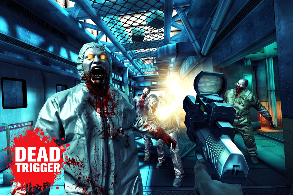 Save Christmas from zombie Santa in latest Dead Trigger update