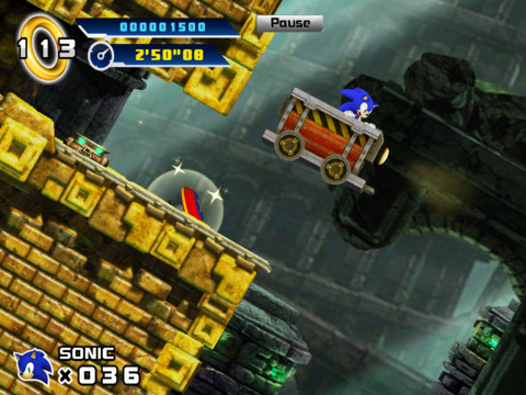 Sonic The Hedgehog 4: Episode 1 races onto iPad in glorious HD for £1.49/$1.99