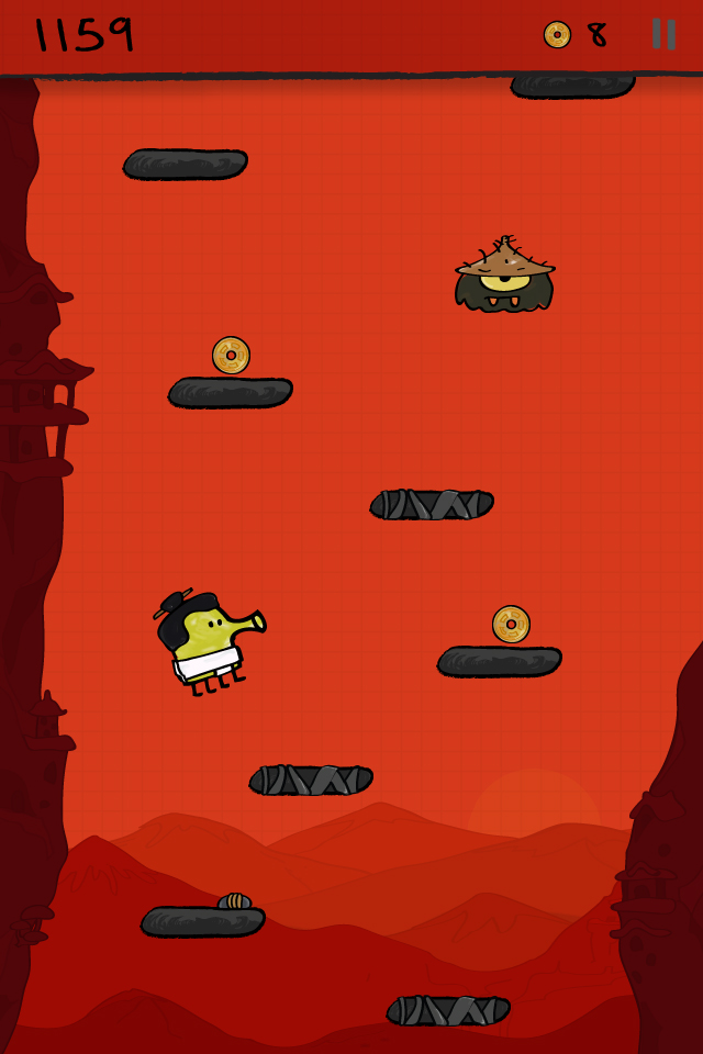Get your ninjas in your Doodle Jump thanks to the latest update