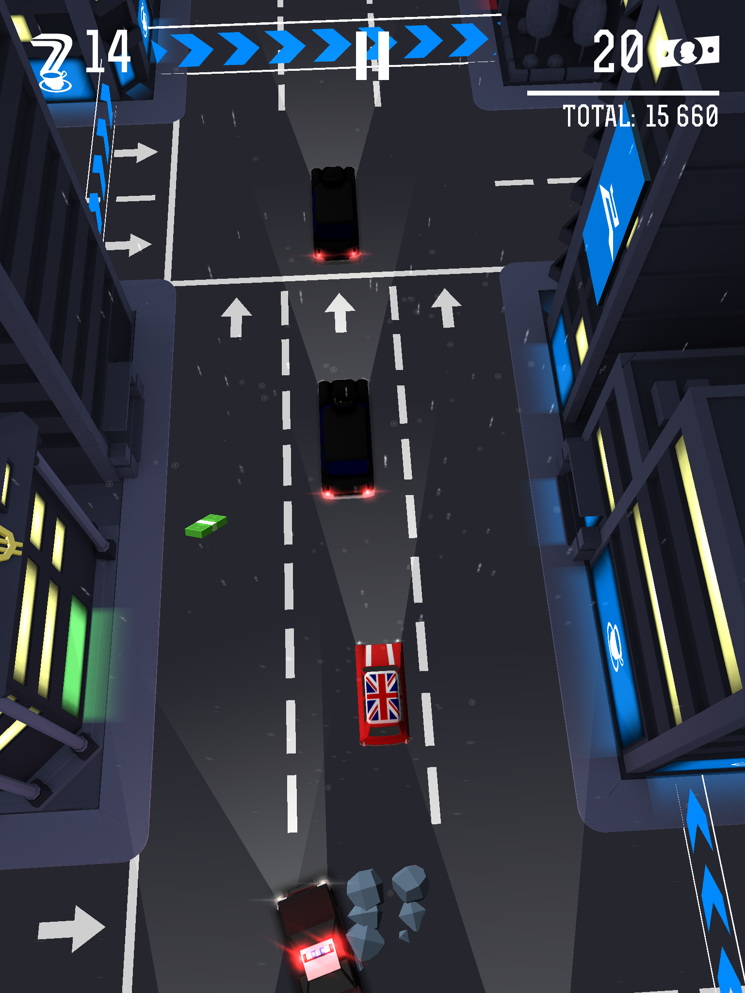 Drifty Chase review - Crossy Road but without the road crossing