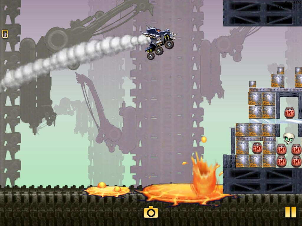 Angry Birds-esque Trucks and Skulls Nitro for both iPhone and iPad now available for free