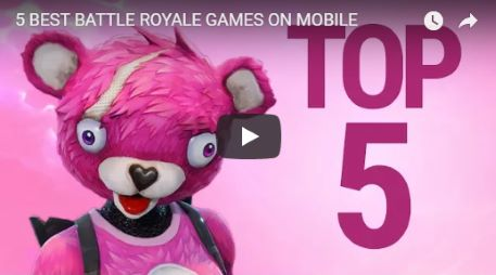best mobile battle royale games