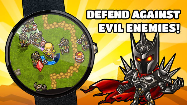Guns 'n' Glory Heroes - Wear brings fantasy epic to your smart wrist