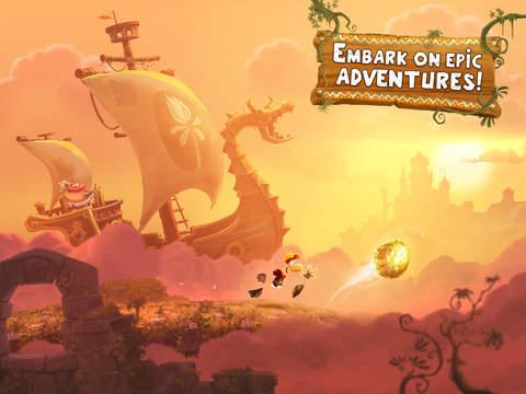 Rayman Adventures - a hop, skip, trip over