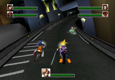 [Update] Final Fantasy VII G-Bike will be racing onto iOS and Android in Japan this autumn