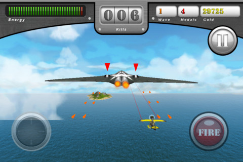 Free iPhone and iPad games: Infinite Sky, Crazy Police