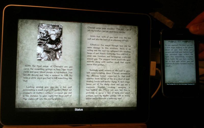Gamebook Adventures coming to iPad