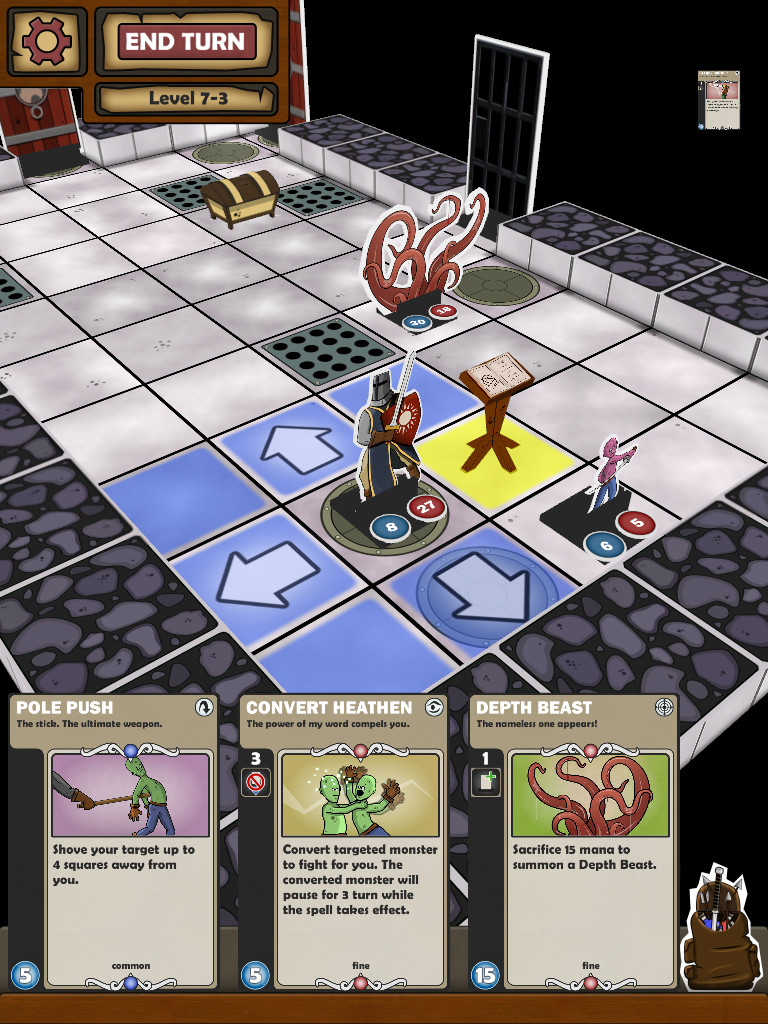 Card Dungeon, Play Tap's clever mix of a roguelike and a card game, is out right now for Android