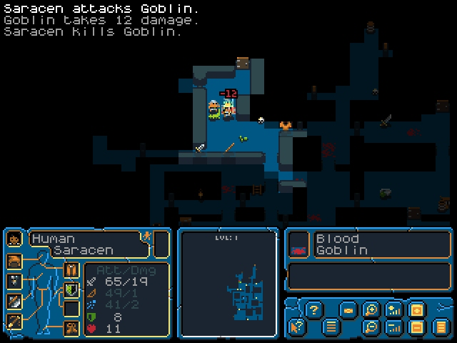 Out at midnight: Hack, Slash, Loot is a deep but accessible roguelike that's perfect for your coffee break