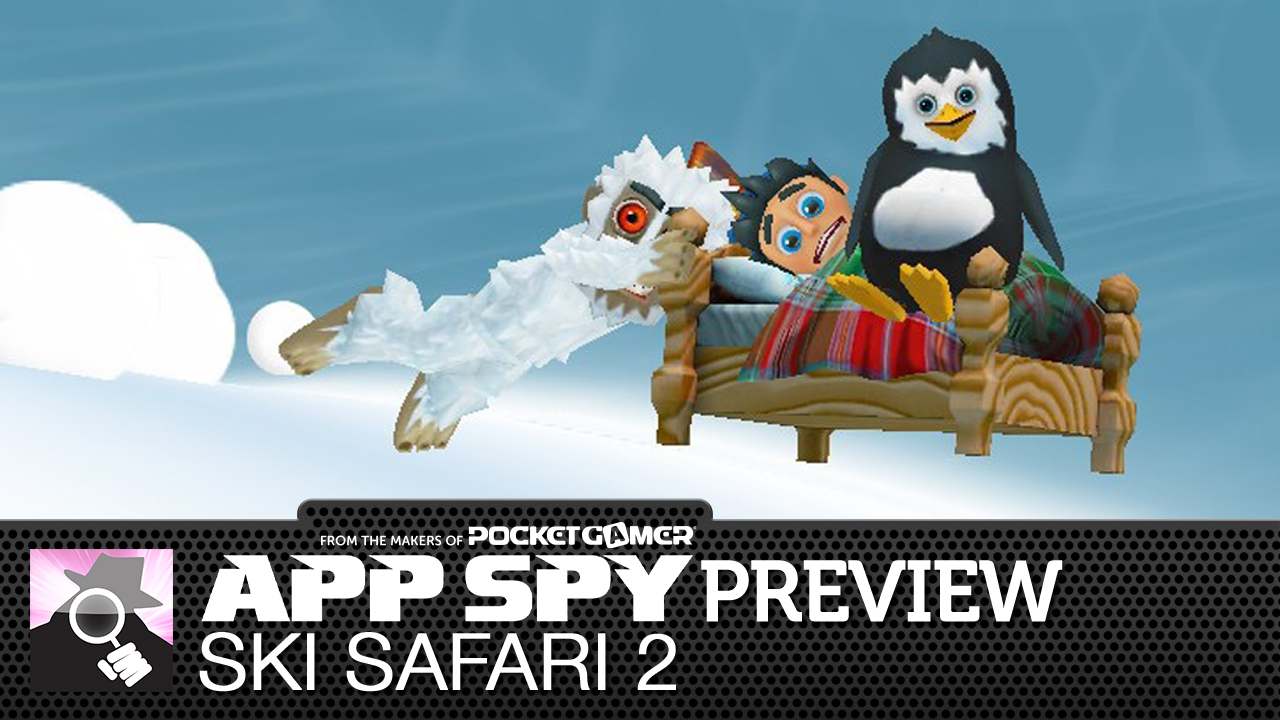 Ski Safari 2 has you using a penguin as a snowboard, and is therefore completely awesome