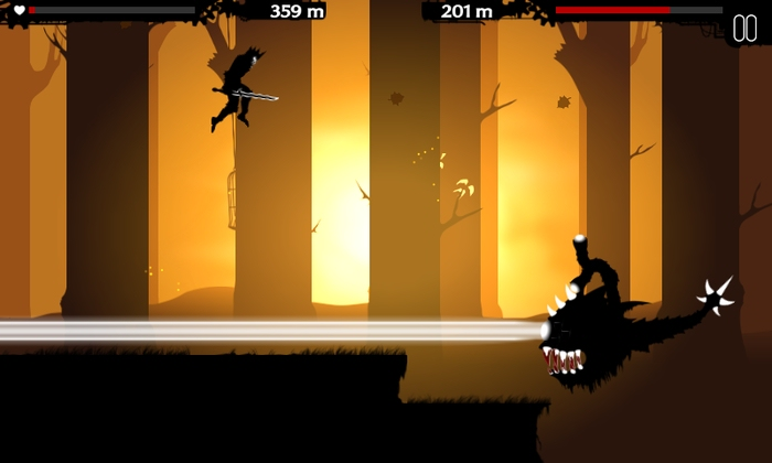 Kickstart this: Dark Lands is an 'endless battle runner' with lots of beasts and blood