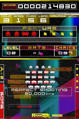 Hands on with Space Invaders Extreme on DS