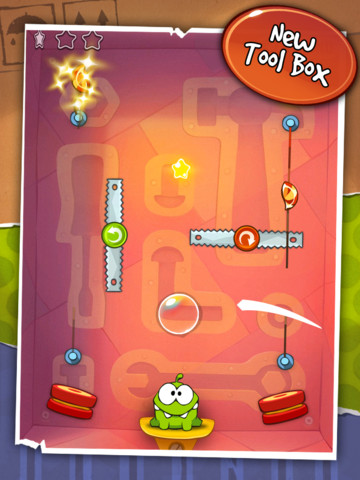 Cut the Rope for iOS gets 25 new levels in 'Tool Box' update