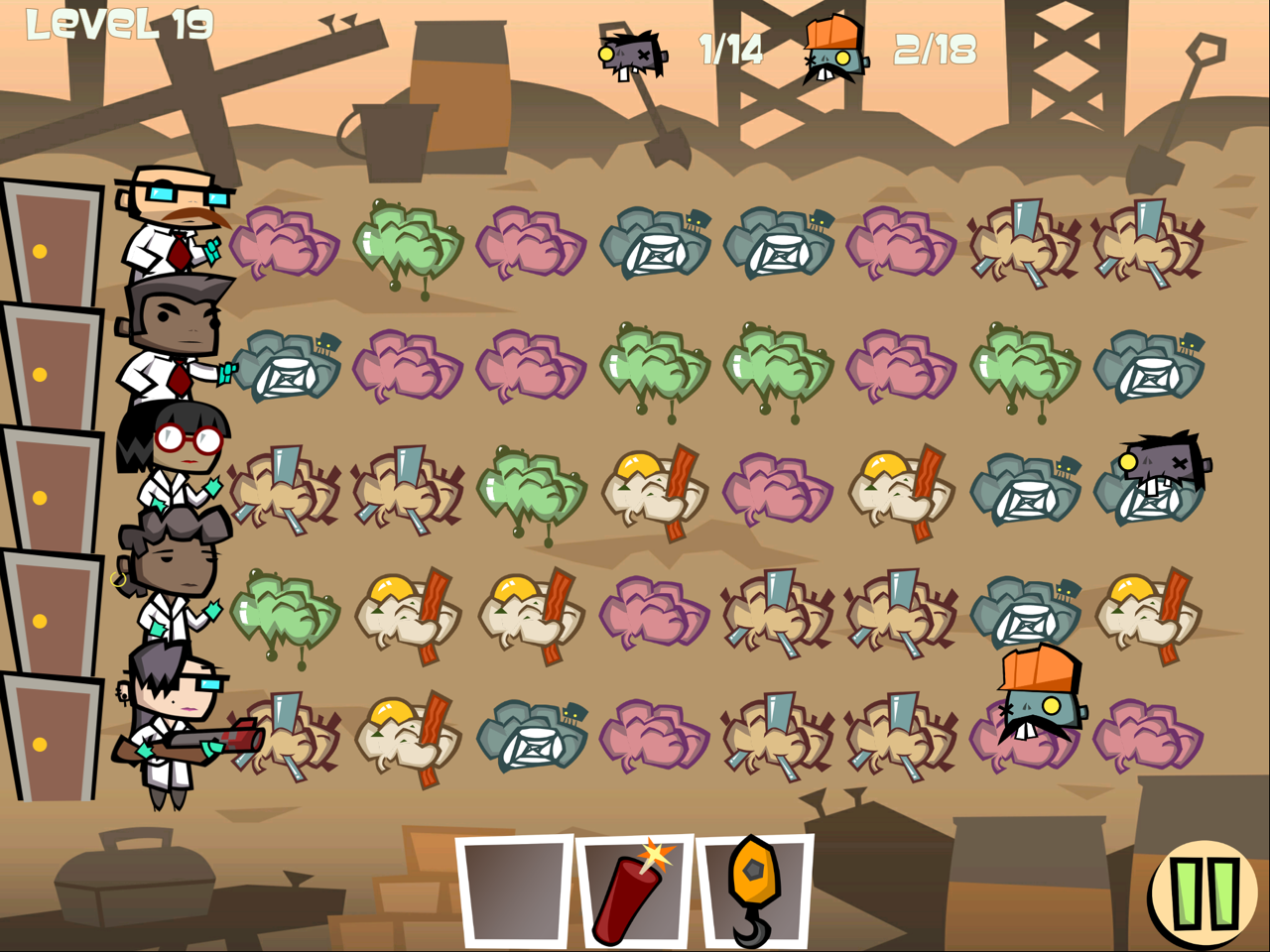 Zombie Match Defense - Oh so very generic