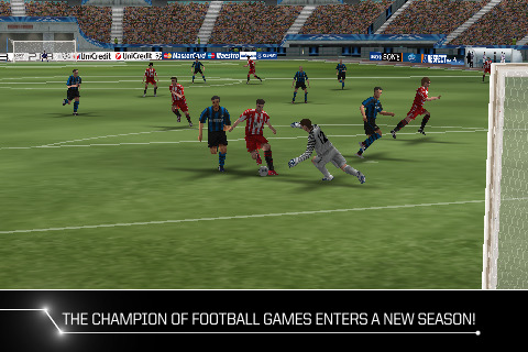 Konami's PES 2011 - Pro Evolution Soccer for iPhone and iPad tackled down to £1.49/$1.99