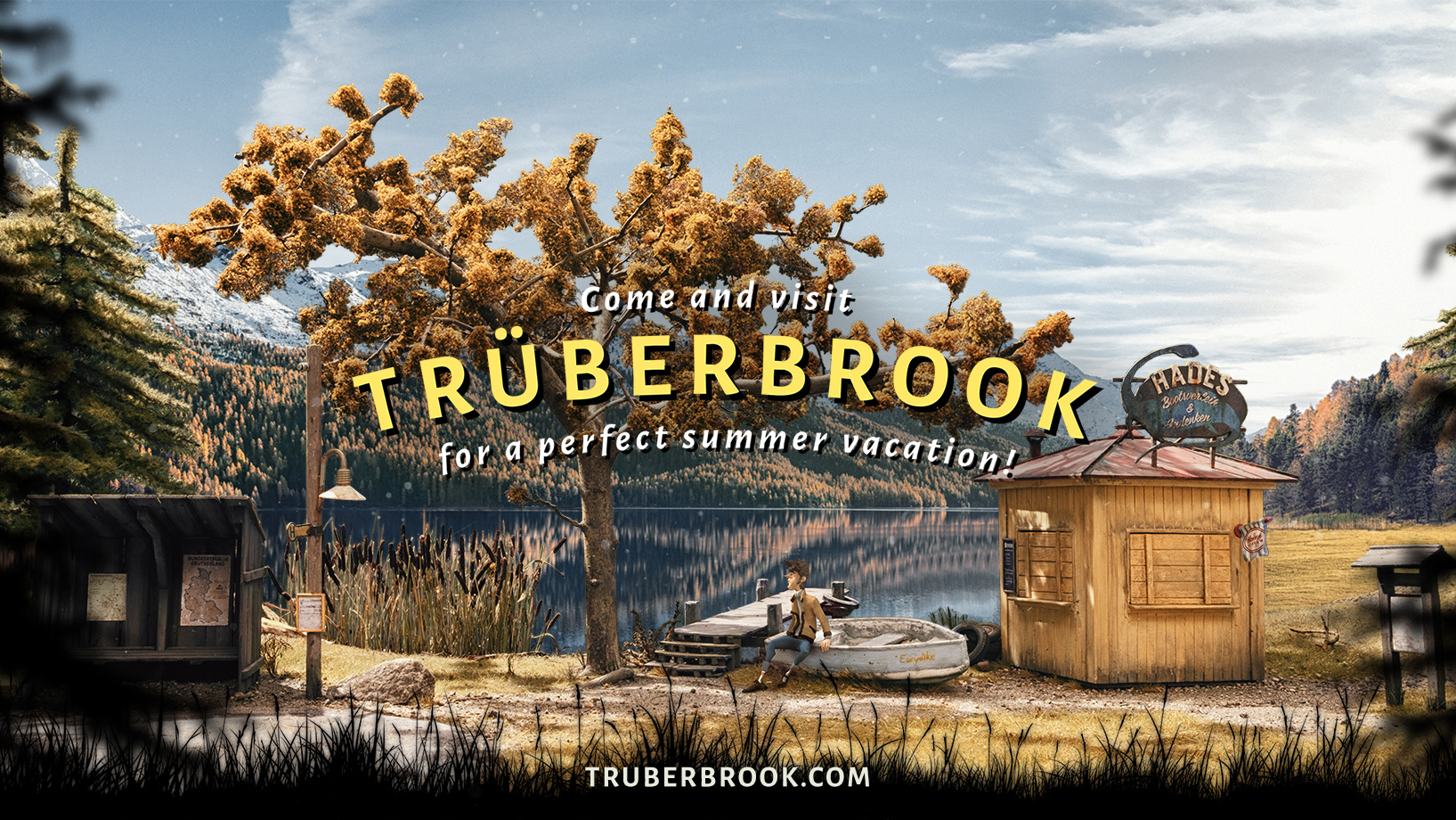 'X-Files' meets 'Twin Peaks' in the upcoming mystery adventure Trüberbrook