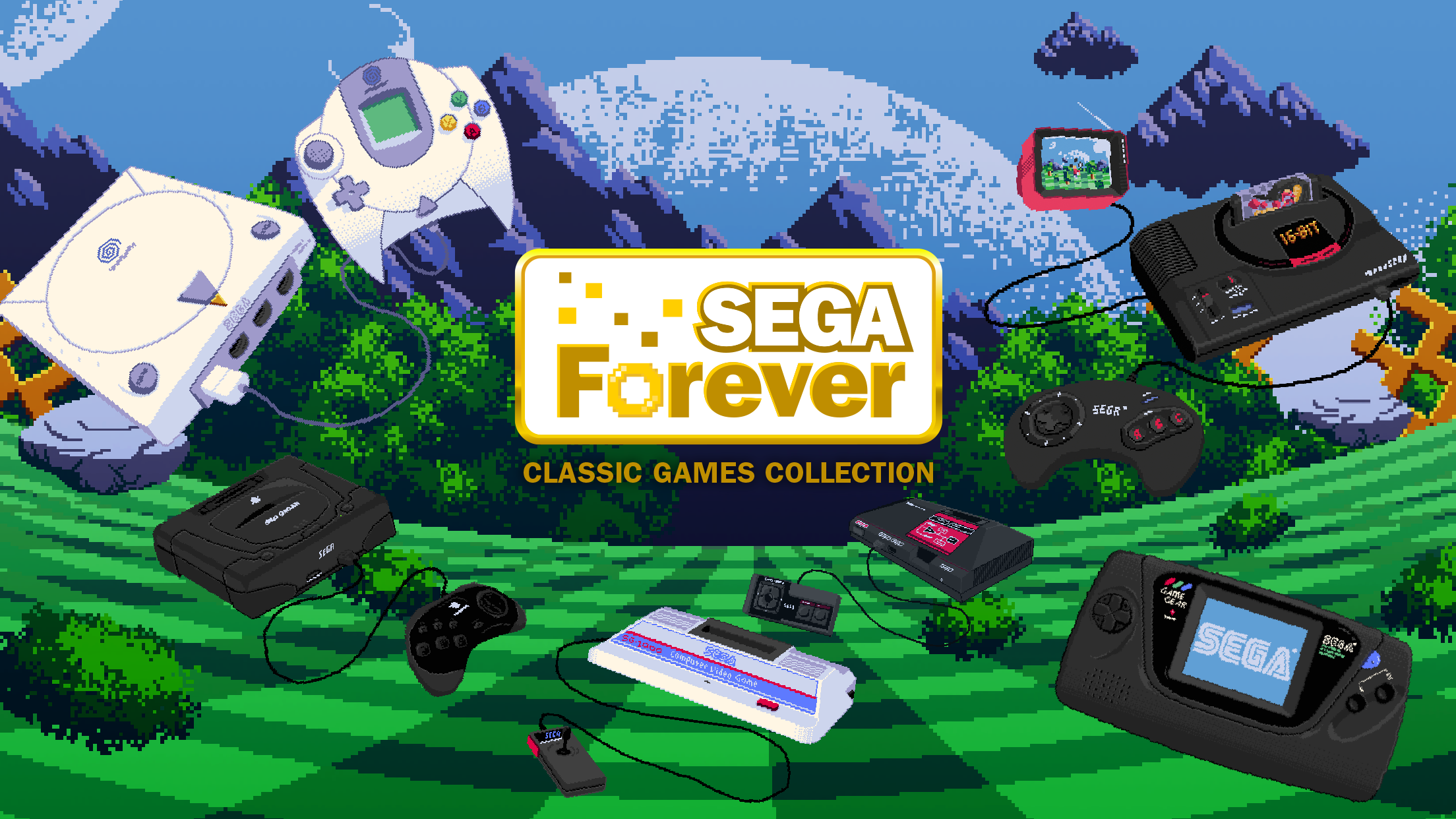 [Update] The classic game streaming service SEGA Forever kicks off on iOS and Android