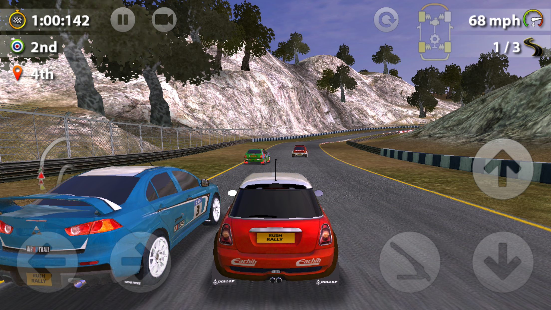 How does Rush Rally 2 compare to Real Racing 3, AG Drive, and more?