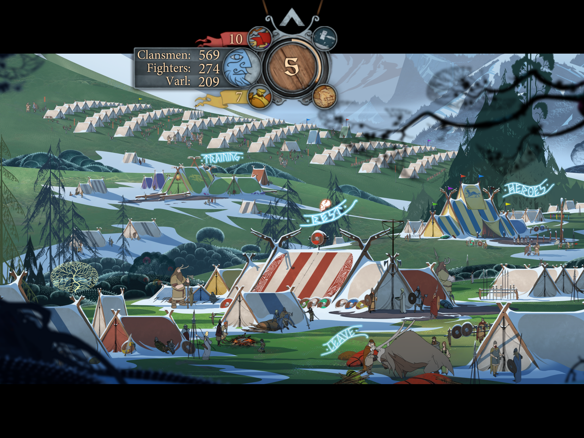 The Banner Saga 2 review - Another deep and moving tactical RPG