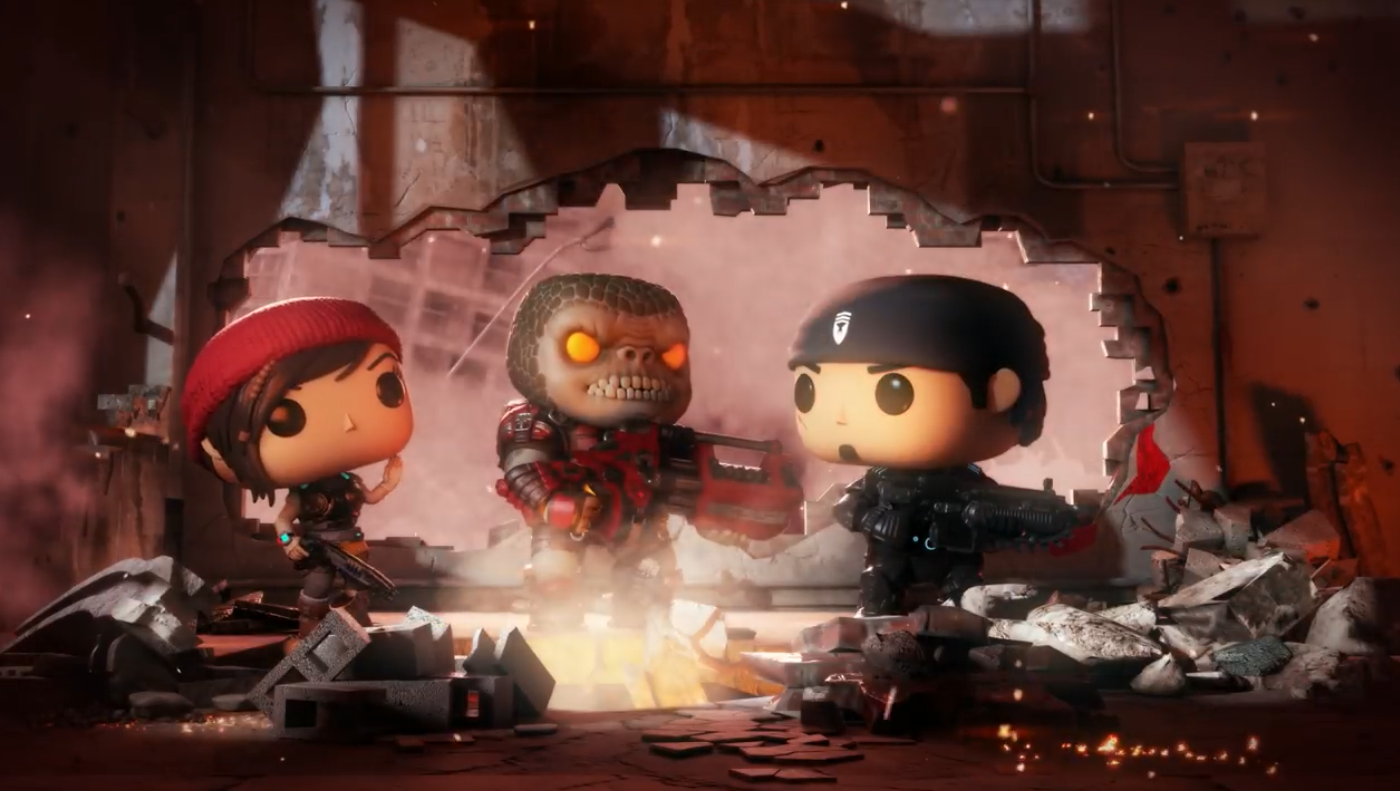 E3 2018 - The upcoming Gears of War mobile game, Gears POP!, isn't a combination we were expecting