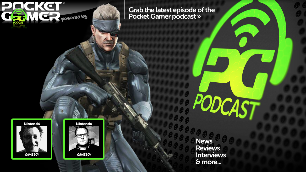 The Pocket Gamer Podcast: Episode 328: Lara Croft GO, Metal Gear, Calvino Noir, Mazecraft, and punk rock tunes